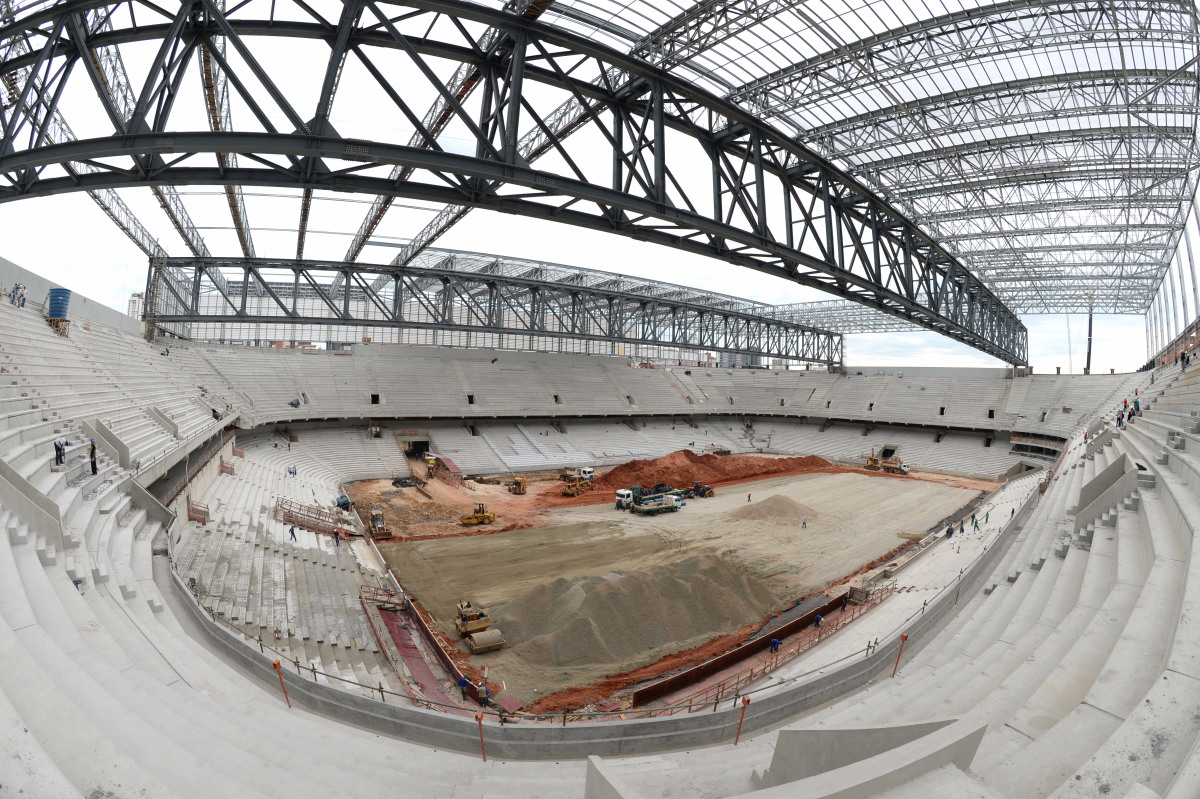 Stadium 'Arena da Baixada' in Curitiba